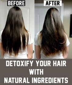 Detoxify Your Hair with Natural Ingredients - healthybolt Hair Detox, Hair Issues, Natural Hair Styles, Long Hair Styles, Health And Beauty Tips, Hair Health, About Hair, Hair Hacks, Makeup Hacks