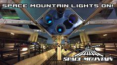 Space Mountain Lights On POV Walt Disney World Magic Kingdom