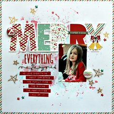 Merry everything - Scrapbook.com