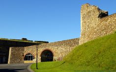 Panoramio is no longer available Norman Castle, Dover Castle, Kent England, Listed Building, English Heritage, Barbican, Entrance Gates, 12th Century, St John's
