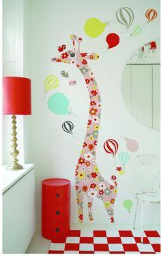 habitacion infantil color 3 Inspiración en rojo