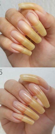 Long Natural Nails, Long Nails, Beauty, Cute Nails, Beauty Illustration