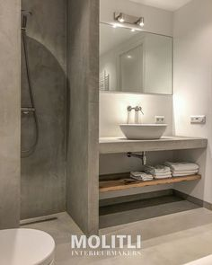 Simple Bathroom Designs, Bathroom Design Luxury, Modern Bathroom, Small Bathroom, Wc Design, House Design, Bathroom Design Inspiration, Bathroom Trends, Shower Remodel