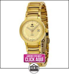Reloj de oro automático de Rado revolucionaria de color amarillo-oro chapado en reloj de mujer de acero inoxidable R30280253  ✿ Relojes para mujer - (Lujo) ✿ ▬► Ver oferta: https://comprar.io/goto/B00EKLQ5EA