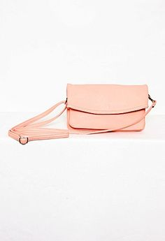Crossbody Foldover Purse More Colors Available