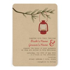 This DealsRed Oil Lantern Evergreen Tree Camping Wedding Invitationso please read the important details before your purchasing anyway here is the best buy