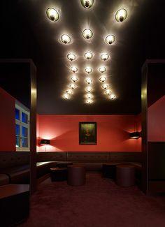 Bar FouFou, Stuttgart. Ein Projekt von Ippolito Fleitz Group – Identity Architects, Decken.
