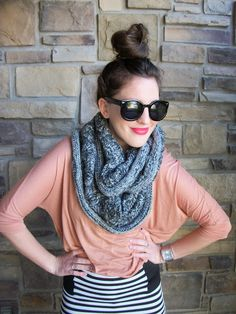sole society infinity scarf