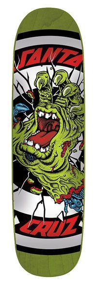 Santa Cruz Skateboards: Decks: 8.5in x 31.85in Rob Hand Deck