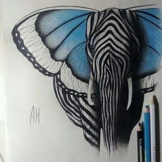 I love this piece as it is a surrealist piece and there are many different animals to form the one large animal which is the elephant. This shows transformation in a very innovative way.