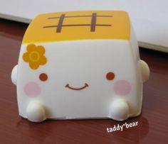 Hannari Tofu Kawaii Squishy White | eBay