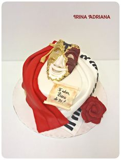 Music and Theater Cake