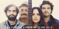 Le concert de la famille Chedid sur Europe 1 le 2 juin
