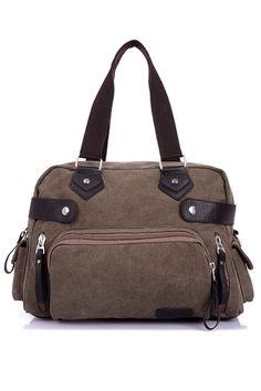 Journey Must-have Canvas Bag - OASAP.com