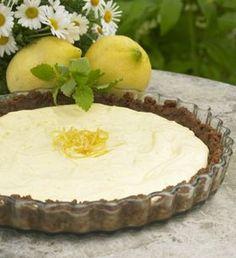 Citrontærte uden ovn En dejlig tærte, der ikke skal bages