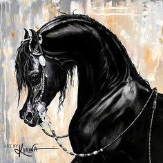 Art By Karina is home to the works of Arabian horse artist, Karina Peacemaker. Shop prints, original paintings & drawings, custom art, equine gifts and more. Horse Drawings, Car Drawings, Beautiful Arabian Horses, Colored Pencil Artwork, Arabian Art, Horse Face, Horse Head, Horse Artwork, Beauty In Art