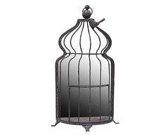 Spiegel Birdcage, H 50 cm Bird Cage, Water Bottle, Drinks, Shopping, Mirrors, International Style, Frame, Bird Cages, Water Bottles