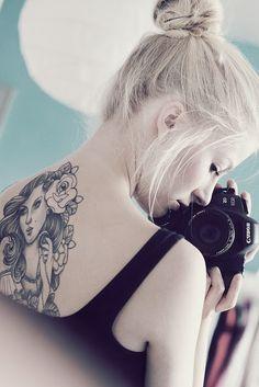 back tattoo for fashion girls  #tattoo #girls  #sexy     www.loveitsomuch.com