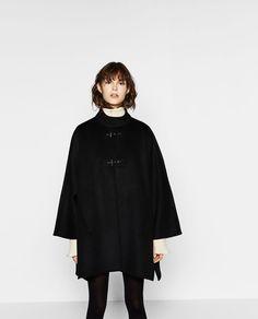 Image 2 of CAPE COAT from Zara