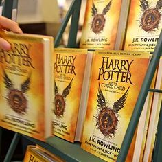 Books: Harry Potter and the Cursed Child sells over 3.3 million copies