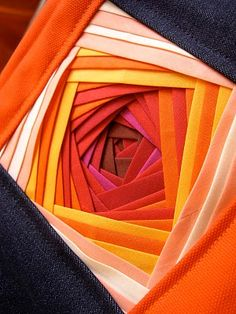 Iris Folding with Bias Strips Tutorial.
