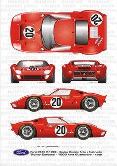 The Ford GT first captured the hearts and minds of many drivers around the world in the A mid-engine, two-seater sports car produced by Ford Ford Gt40, Le Mans, Bmw Series, Audi Tt, Vintage Racing, Vintage Cars, Er6n, Automobile, Volkswagen Karmann Ghia