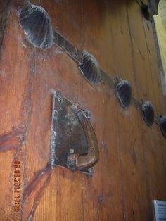 Llamador puerta Casa de la Conchas Salamanca