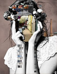 Clever and meaningful Collage Art Examples (32)