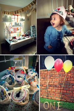 One upon a Time First Birthday Party