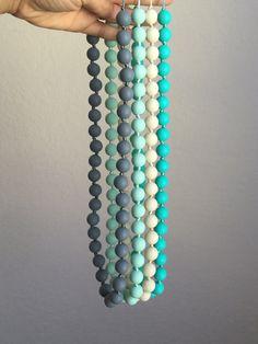 Silicone Teething Necklace / Silicone Nursing by MamasVillage
