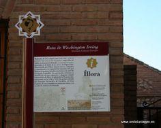 """#Granada - #Íllora - Ruta de Washington Irving - 37º 17' 8"""" -3º 52' 53"""" / 37.285556, -3.881389  Rodeada de los campos que eran una """"mina de excelente trigo, casa y sitio de ganados"""", según Ibn al-Jatib, se encuentra la llamada """"ojo derecho de Granada"""", asentada en la falda de la sierra de Paparanda."""