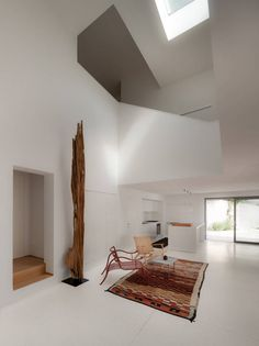 Interior of House F  by Biasi Bonomini Vairo Architetti.