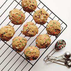 chocolate chunk holiday cookies