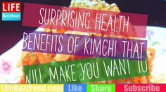 Surprising Health Benefits Of Kimchi That Will Make You Want To Try it Now - YouTube