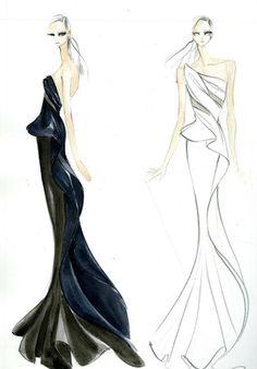 donna karan fashion sketches | ... scenic:/international/style-spain/boceto-anna-kendrick-donna-karan.jpg
