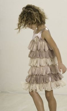 Biscotti Gilded Age Shimmery Loop Dress...when I have a girl. :)