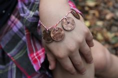 "Penny bracelets to help kids remember Elder Hales' teaching that ""His doctrine and sacred and will not CHANGE!""  http://beinglds.blogspot.com"