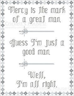 Firefly Cross Stitch Pattern. I'm all right by CrickettsHouse