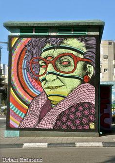 BROKEN FINGAZ CREW _ Outdoor Mural