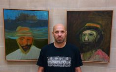 Peter Doig at the Scottish National Gallery, Edinburgh, July 2013
