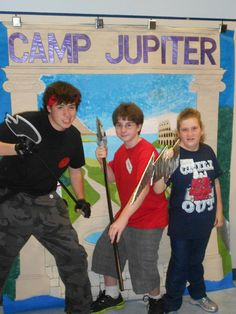 Camp Jupiter at Longwood Public Library