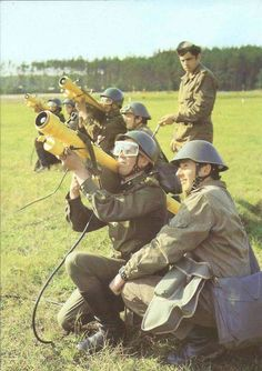 East German Soldiers Training With Their New Striela-2 Anti-Aircraft Launchers