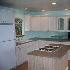 Single wide mobile home kitchen remodel …   Beach Home!   Pinte…