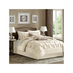 Madison Park Lafayette 7-pc. Comforter Set, White