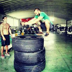 Tires jump
