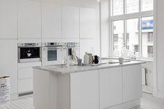 decoracion cocinas modernas blancas - Buscar con Google