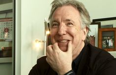 Alan Rickman will teach you to make a smile.