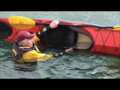 Paddle Float Re-enter & Roll Kayak Rescue   How To Articles - Paddling.net
