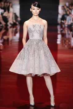 Paris Fashion Week: Elie Saab Fall 2013 Couture Collection