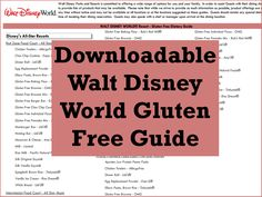 Disney Under 3 - Soy Milk at Disney World – Where to Find It (and WDW Gluten Free Guide)